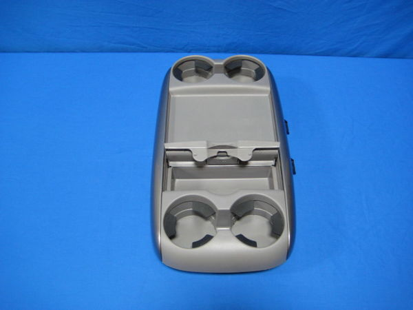 2007 Toyota Sienna Interior Center Console Tray Cup Holders Front Lid Gray